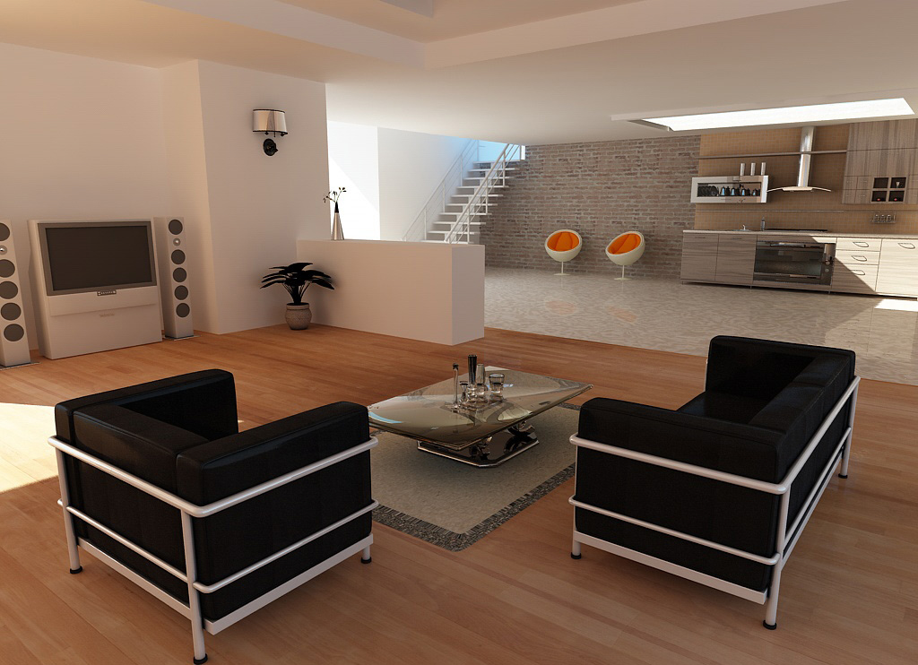 3d interieur transposia for Interieur 3d